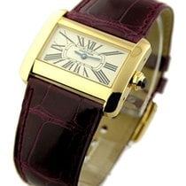 Cartier 2601 Tank Divan Yellow Gold - Mini Size - Quartz