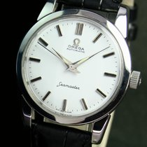 Omega Seamaster 501 Automatic Steel Mens Vintage Watch White Dial