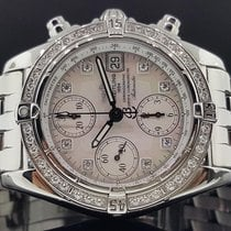 Breitling Windrider Cockpit 39mm Factory MOP Diamond Dial +...