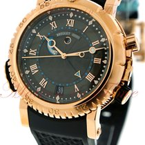 Breguet Marine Royale Alarm, Black Dial - Rose Gold on Strap
