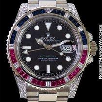 ロレックス (Rolex) Gmt II 116759saru 18k White Gold Sapphires...