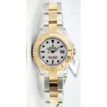 Rolex Yachtmaster 169623 Ladies Steel & 18K Yellow Gold...