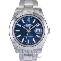 롤렉스 (Rolex) Datejust II Blue/Steel Ø41mm - 116300