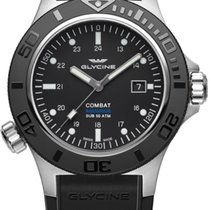 Glycine Combat Sub Aquarius 46mm Automatik Herrenuhr GL0039...