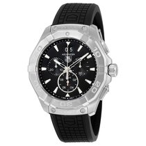 TAG Heuer Men's CAY1110.FT6041 Aquaracer Black Dial...