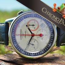 浪琴 (Longines) Heritage Column-Wheel Chronograph Record,...