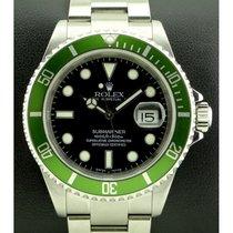 Rolex | Submariner Green Bezel, ref. 16610LV Mark I, Fat Four,...