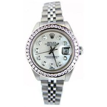 Rolex Datejust Lady's Stainless Steel Jubilee Band Model...
