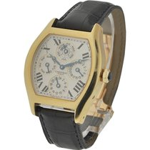 Cartier W1538651 Tortue Two Time Zone Perpetual Calendar in...