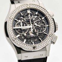 Hublot Classic Fusion Aero Titanium Diamonds