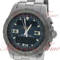 Breitling Airworlf Chronograph, Blue Digital/Analog Dial -...