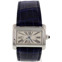 Cartier Tank Divan Stainless Steel Watch 2599