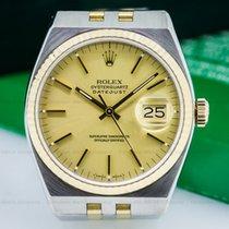 ロレックス (Rolex) 17013 Oyster Quartz Champagne Dial SS/18K Yellow...