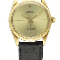 Rolex 18K GOLD OYSTER PERPETUAL