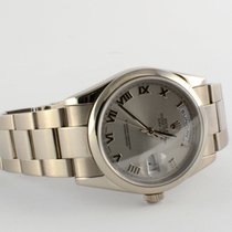Rolex Oyster Perpetual Day-Date 18k Weißgold  WG Oysterband