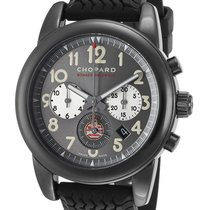 Chopard Grand Prix De Monaco Historique Grey Dial Black Rubber...