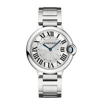 Cartier Ballon Bleu Quartz Mid-Size Watch Ref W69011Z4