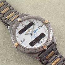 Breitling Aerospace Sondermodell Obe Ton Cup 1986 Titan Gold