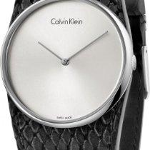 ck Calvin Klein Spellbound K5V231C6 Damenarmbanduhr flach...