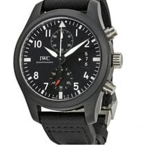 IWC PILOT'S TOP GUN 46 MM BLACK DIAL  IW388007 T
