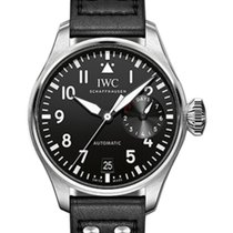 IWC Schaffhausen IW500912 Big Pilot's Watch Black Arabic...