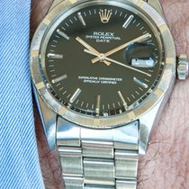 Rolex Date 34mm Année 1969 Cadran Noir de Jais
