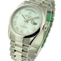 Rolex Unworn 118206 Mens Day-Date Platinum President with...