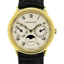 Audemars Piguet Classic Day-Date Moonphase 18k  Gold Watch