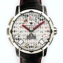 Christophe Claret White Gold Blackjack Casino Watch