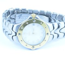 Ebel Sportwave Herren Uhr 37mm Stahl/750 Gold Uhr 2 Gold Lün E...