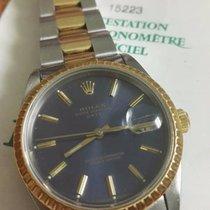 Rolex Oyster Perpetual Date blu dial fullset 2001