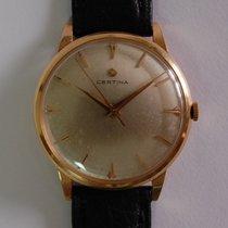 Certina 18k gold dress watch