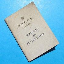 Rolex BLANK PAPER 1680, 5512, 5512, 1665, 1019, 1016, 6263, 6262