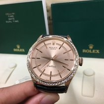 Rolex Cally -  50705RBR Cellini Time 39mm 18ct Rose Pink 最新款鑽石圈