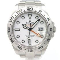 Rolex Explorer 2 216570 Full Set White dial