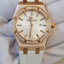 Audemars Piguet Royal Oak 33 silver dial in rose gold 67651OR....