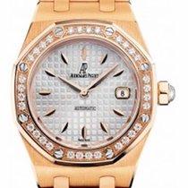 Audemars Piguet Royal Oak Lady 33 mm Rose Gold with Diamond Bezel