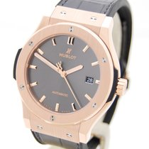 Hublot Classic Fussion King Gold Racing Grey Box & Papiere...