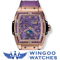 Hublot SPIRIT OF BIG BANG MOONPHASE KING GOLD PURPLE Ref....