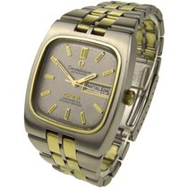 Omega Constellation Steel & Gold Automatic Wristwatch