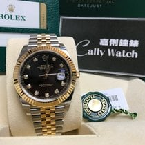 Rolex Cally - New Model DATEJUST II126333 Black Diamond Dial