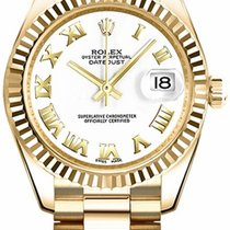 Rolex Unworn 178278 Datejust Midsize President in Yellow Gold...