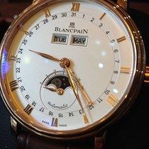Blancpain VILLERET QUANTIÈME COMPLET BROWN STRAP  6263364255