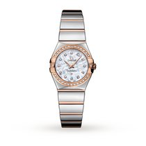 Omega Constellation 18ct Rose Gold Ladies Watch 123.25.24.60.5...