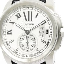 カルティエ (Cartier) Calibre De Cartier Steel Automatic Mens Watch...