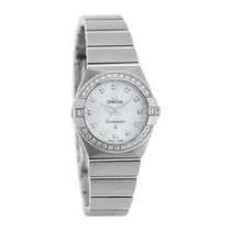 オメガ (Omega) Constellation Ladies Diamond Quartz Watch 123.15.2...