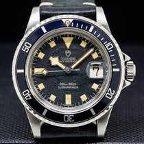 "Tudor 94110 Submariner Black Matte Dial ""Snowflake"" SS..."