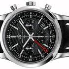 Breitling Transocean Chronograph GMT Black Dial