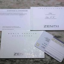 Zenith complete kit warranty card booklet and papers  elitè/el...