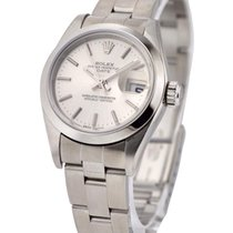 Rolex Used 79160_used_silver_stick Ladies Date 26mm with...